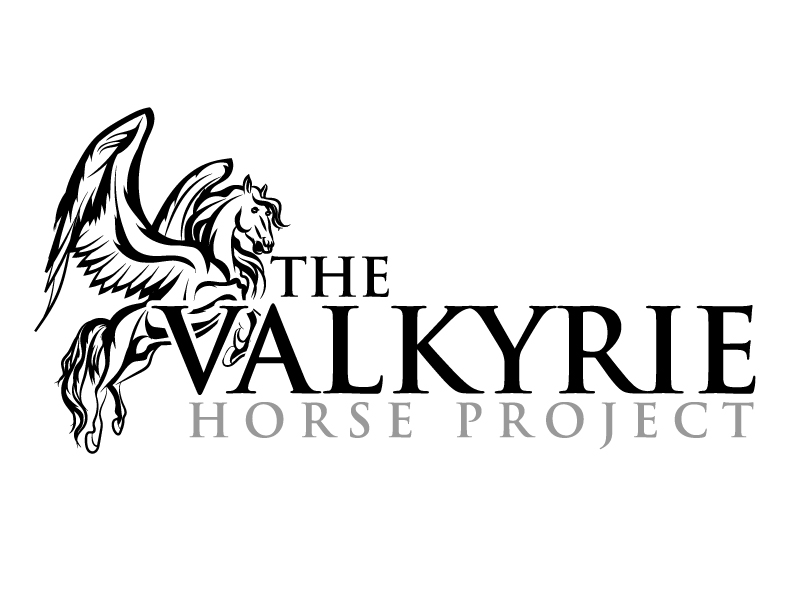 The Valkyrie Horse Project logo design by ElonStark