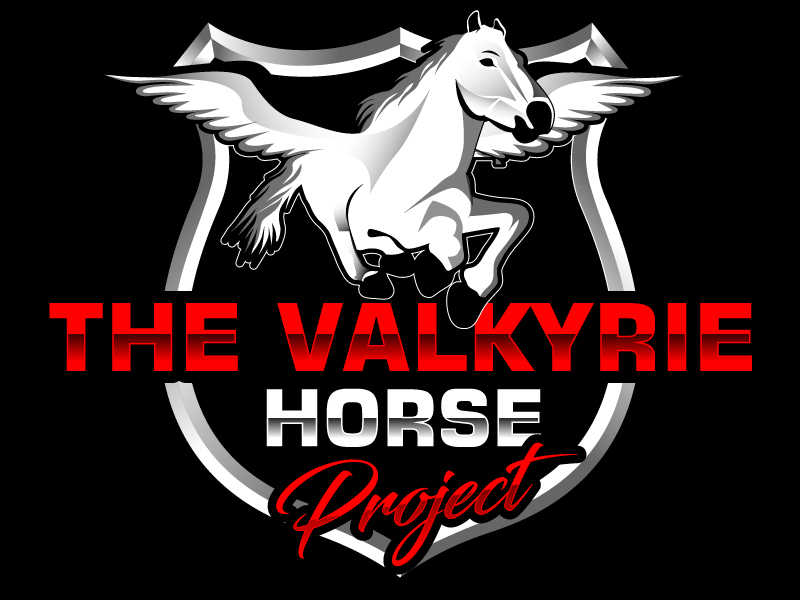 The Valkyrie Horse Project logo design by Suvendu