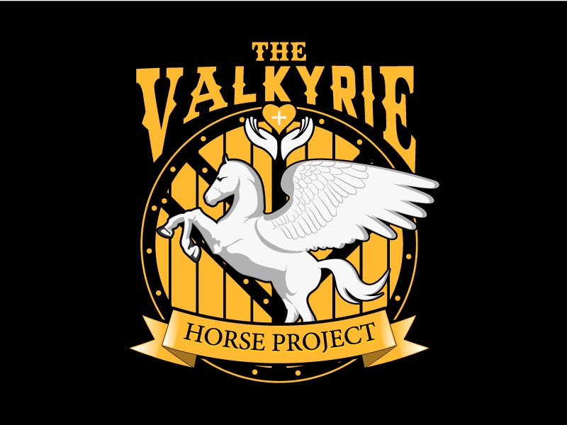 The Valkyrie Horse Project logo design by LogoQueen
