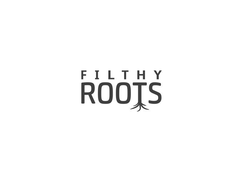 Filthy Roots logo design by shahalam