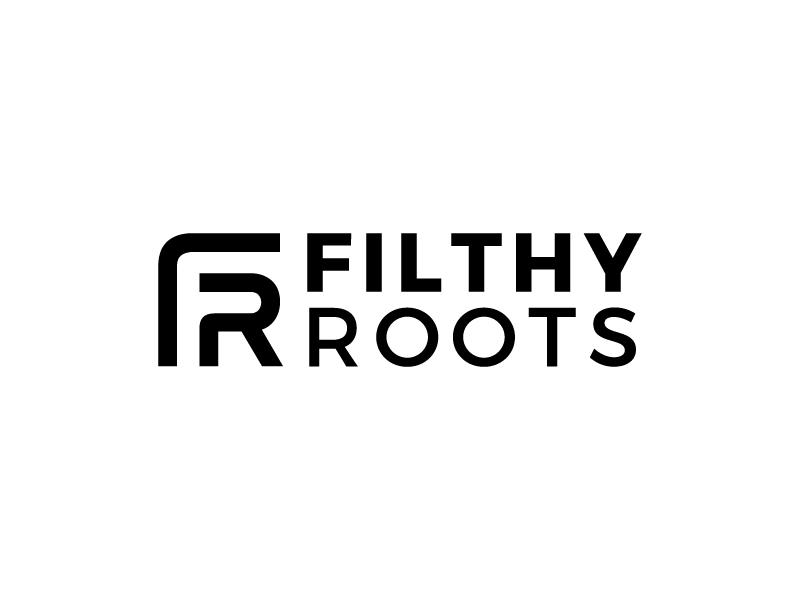 Filthy Roots logo design by denfransko