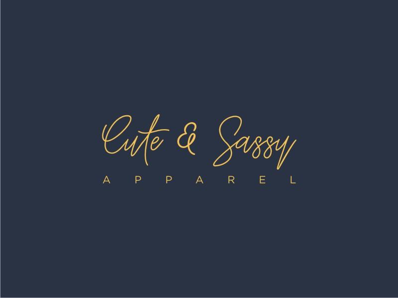 Cute & Sassy Apparel logo design by Susanti