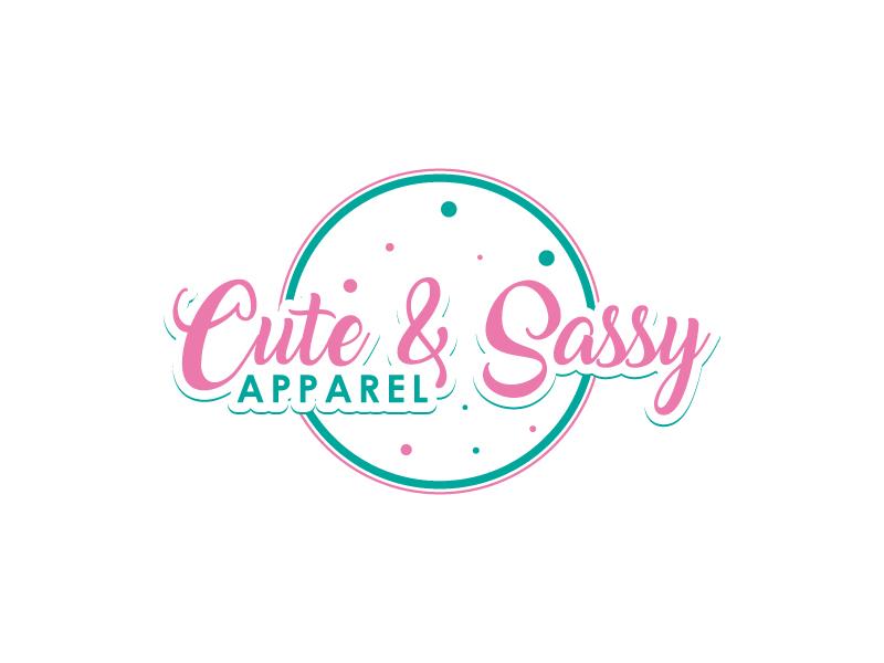 Cute & Sassy Apparel logo design by uttam