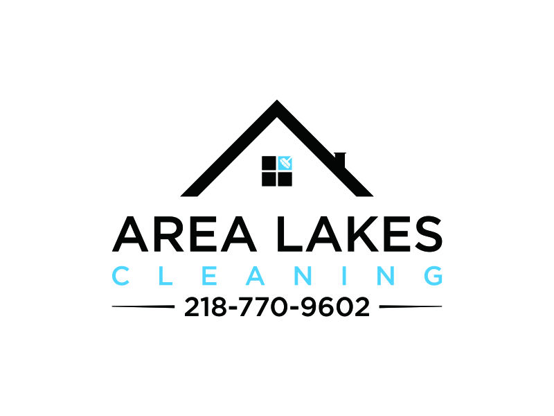 Area Lakes Cleaning Logo Design