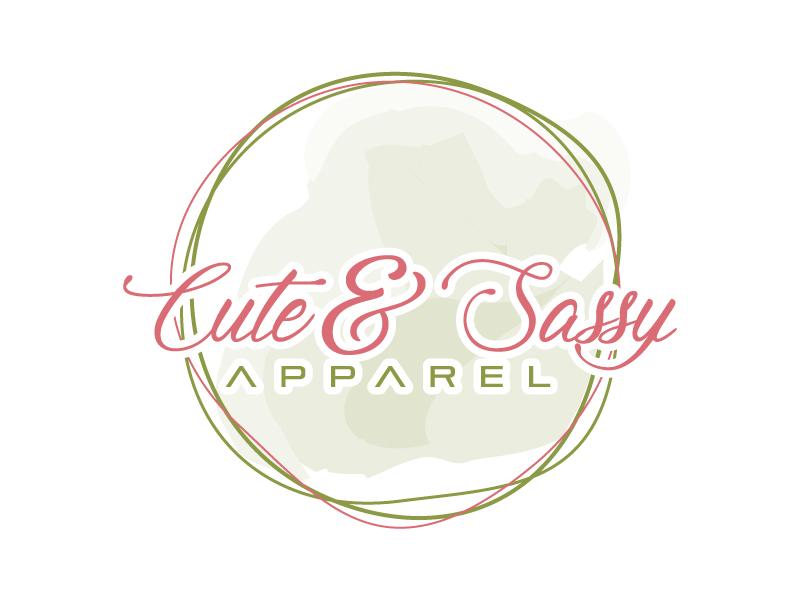 Cute & Sassy Apparel logo design by Suvendu