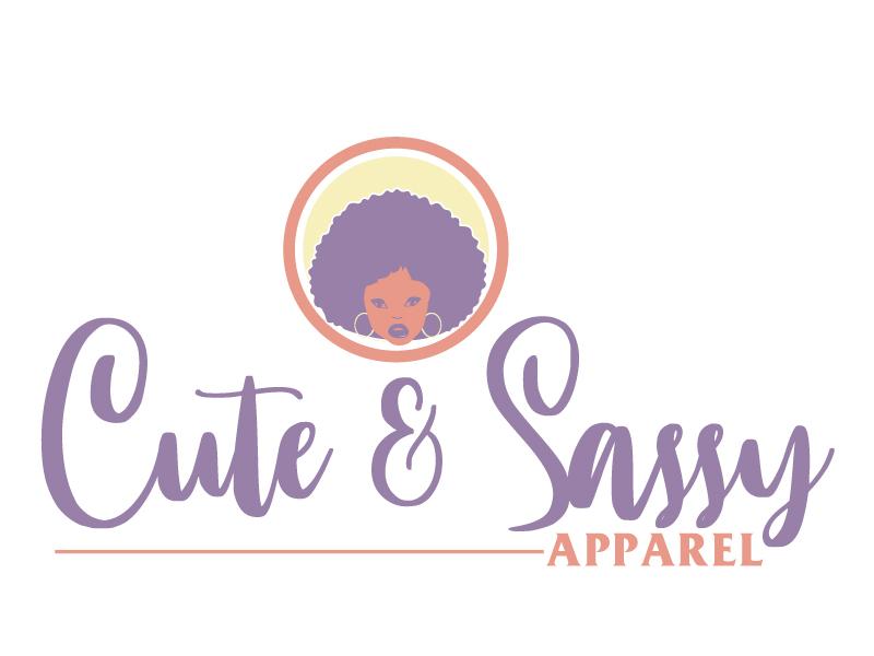 Cute & Sassy Apparel logo design by ElonStark