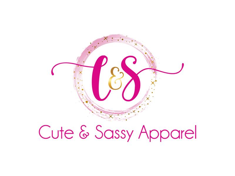 Cute & Sassy Apparel logo design by ingepro