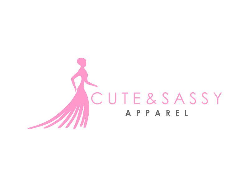 Cute & Sassy Apparel logo design by Akisaputra