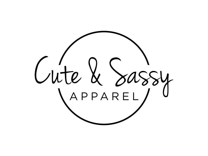 Cute & Sassy Apparel logo design by EkoBooM