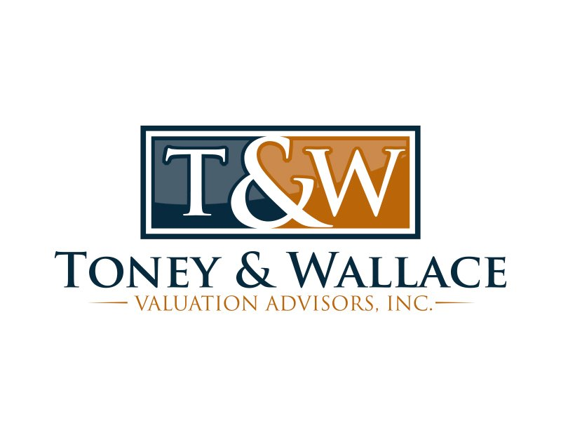 Toney & Wallace Valuation Advisors, Inc. Logo Design