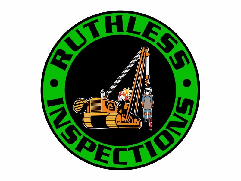Ruthless Inspections Logo Design