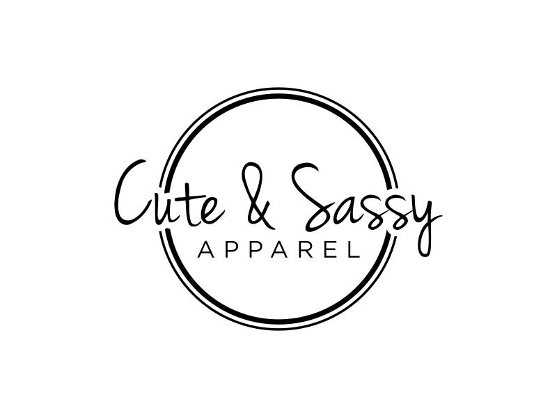 Cute & Sassy Apparel logo design by Amne Sea