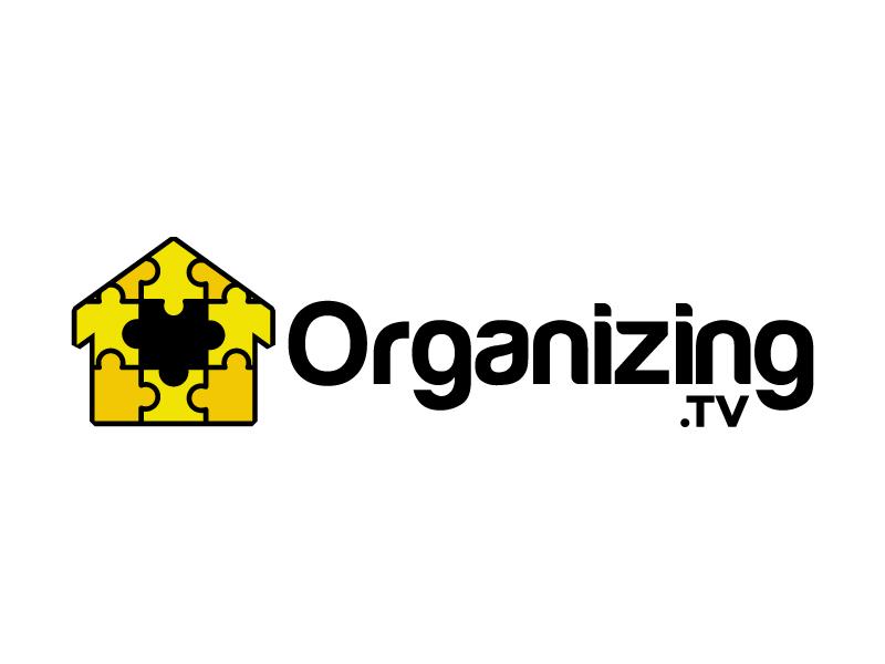 Organizing.TV logo design by karjen