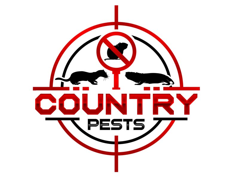 Country Pests logo design by DreamLogoDesign