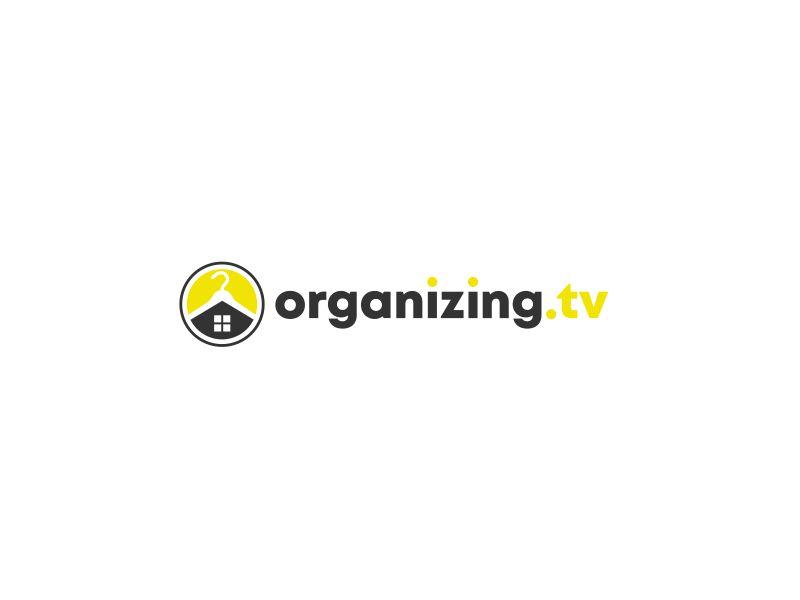 Organizing.TV logo design by kimora