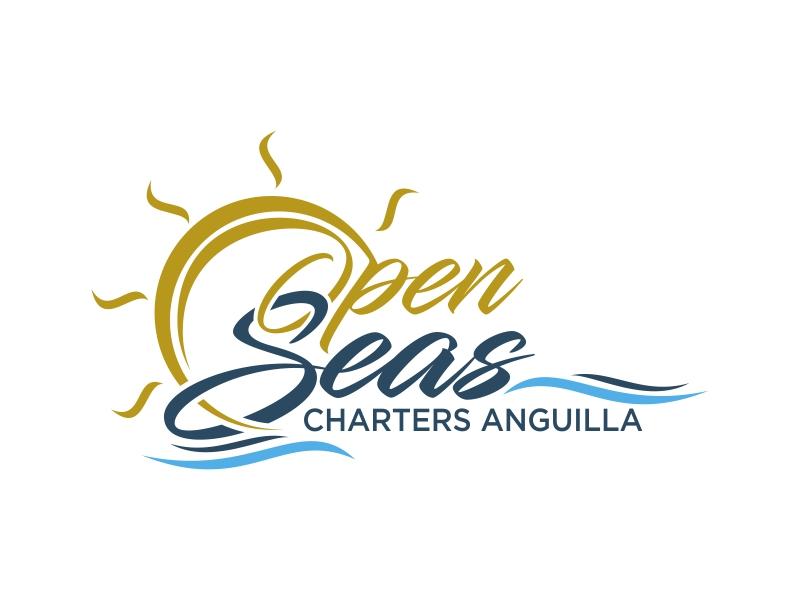 OPEN SEAS CHARTERS ANGUILLA logo design by ekitessar