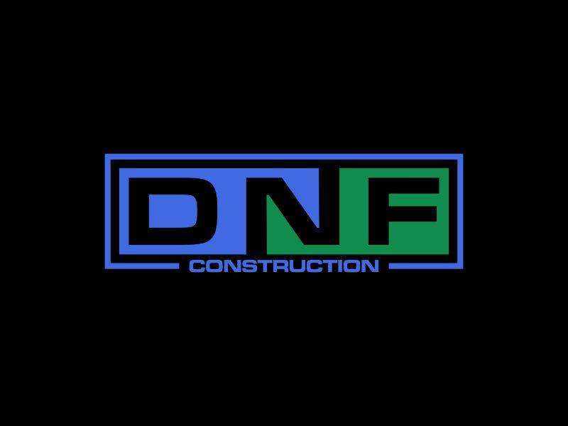 DNF CONSTRUCTION logo design by goblin