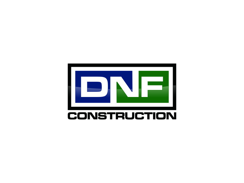 DNF CONSTRUCTION logo design by Msinur