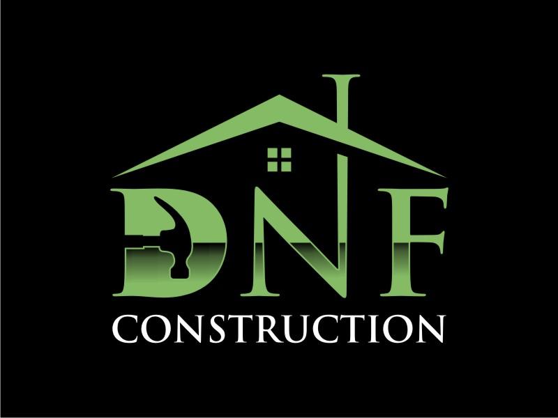 DNF CONSTRUCTION logo design by lintinganarto