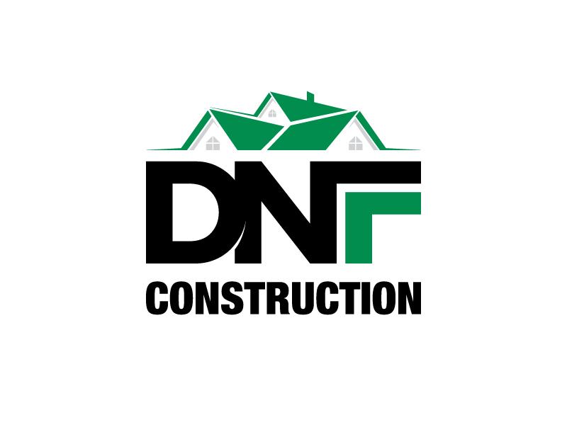 DNF CONSTRUCTION logo design by PRN123