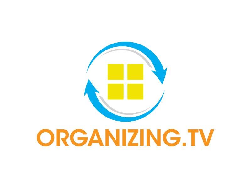 Organizing.TV logo design by Andri