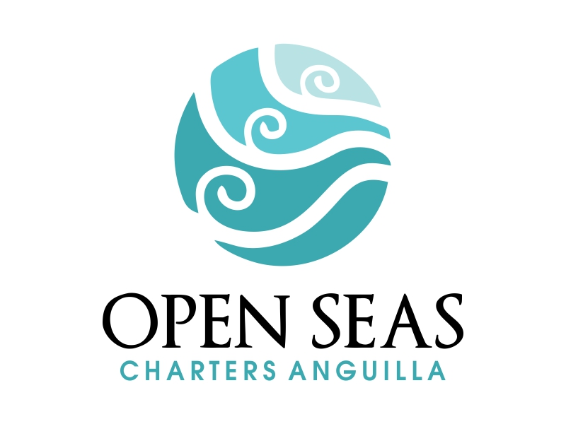 OPEN SEAS CHARTERS ANGUILLA logo design by JessicaLopes