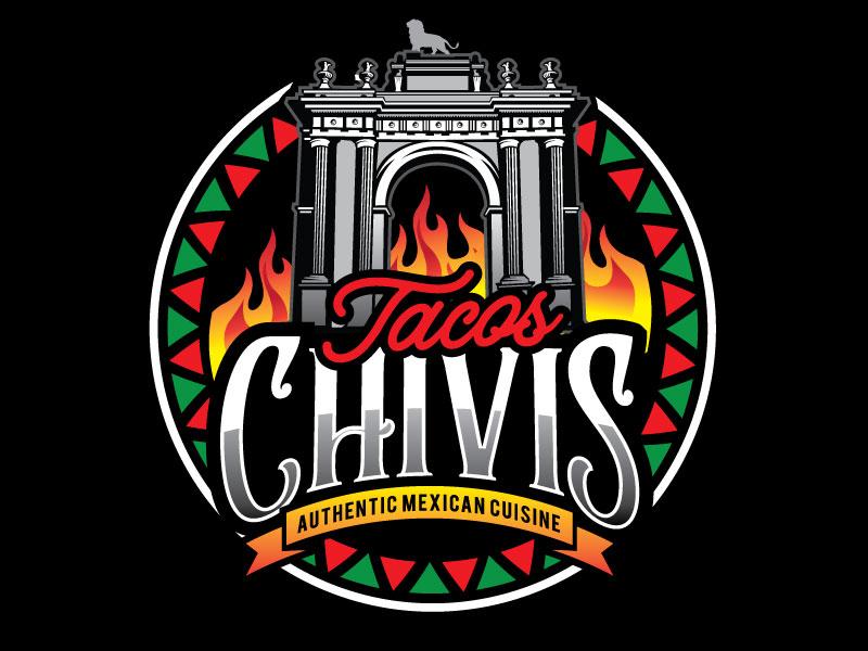Tacos Chivis Logo Design