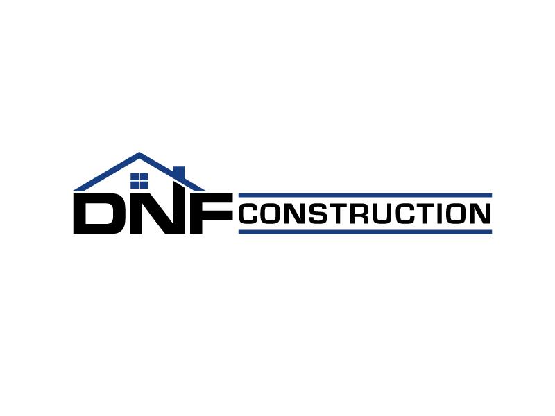 DNF CONSTRUCTION logo design by tony