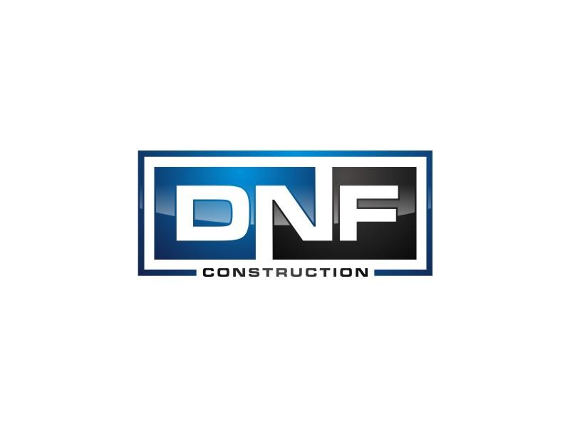 DNF CONSTRUCTION logo design by zeta