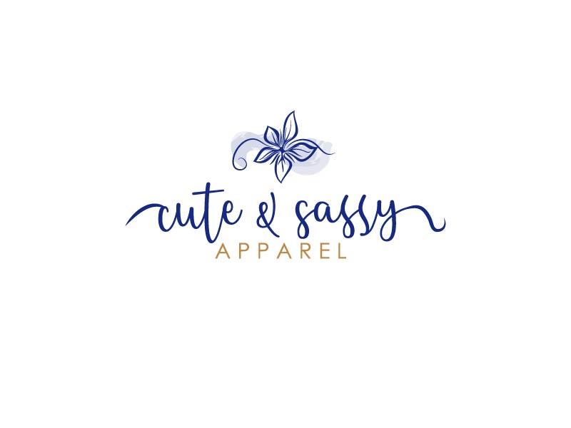 Cute & Sassy Apparel logo design by axel182