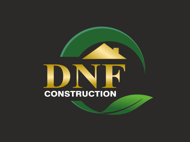 DNF CONSTRUCTION logo design by mindstree