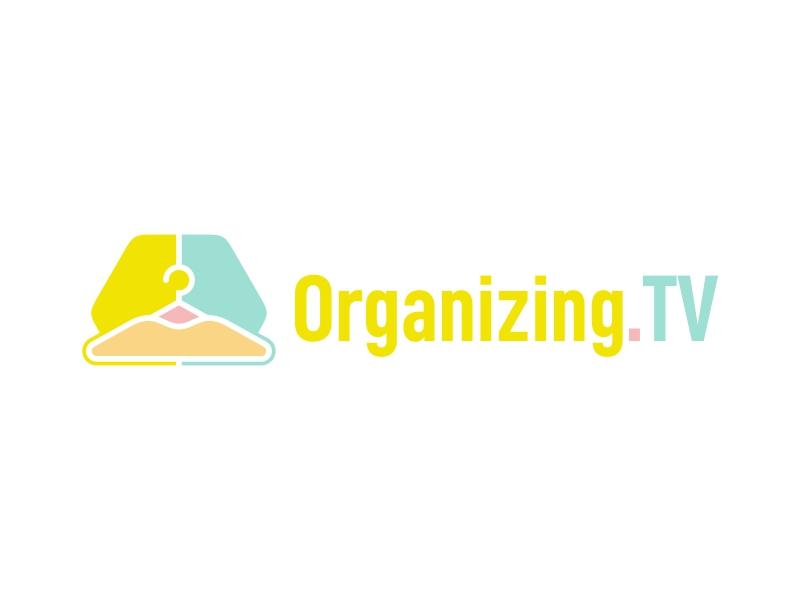 Organizing.TV logo design by ekitessar