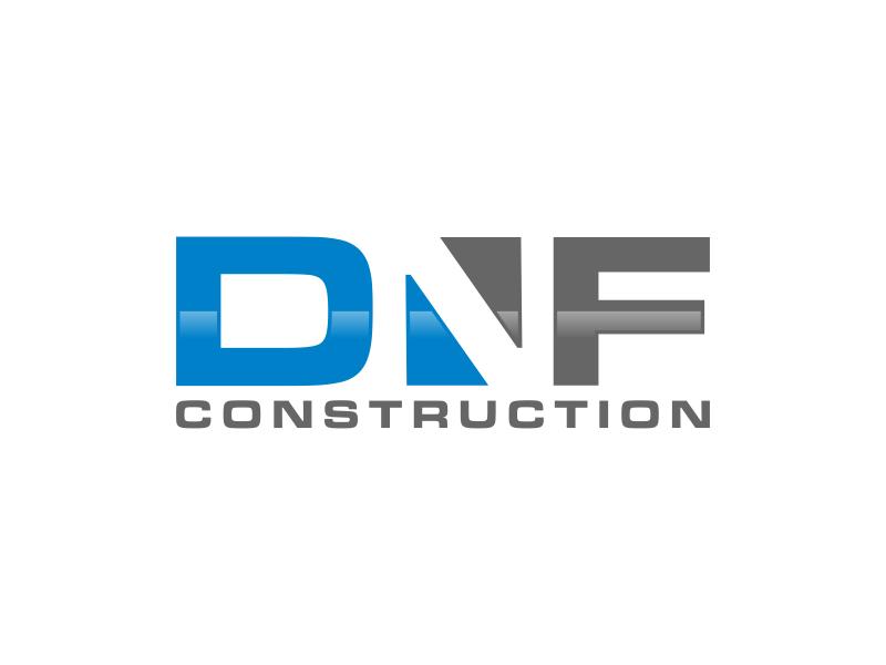 DNF CONSTRUCTION logo design by Amne Sea