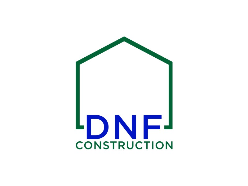 DNF CONSTRUCTION logo design by sabyan