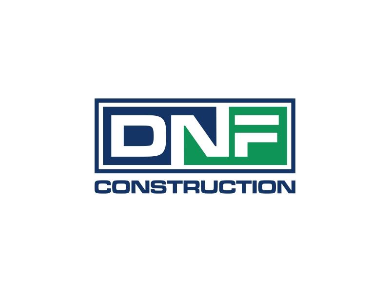 DNF CONSTRUCTION logo design by asani