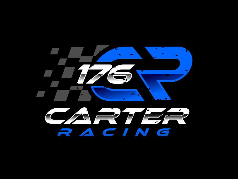 Carter Racing 176 logo design by REDCROW
