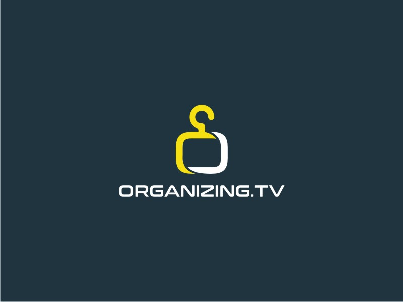 Organizing.TV logo design by Galfine
