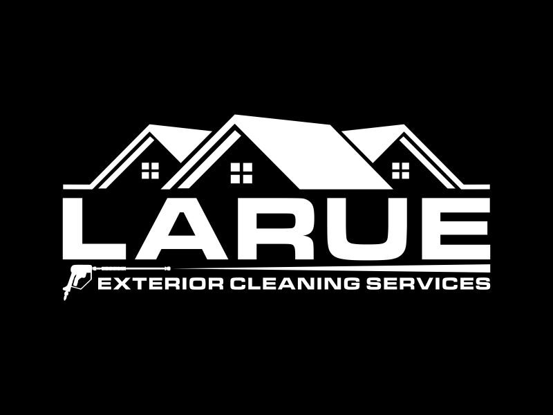 Larue exterior cleaning services logo design by Franky.