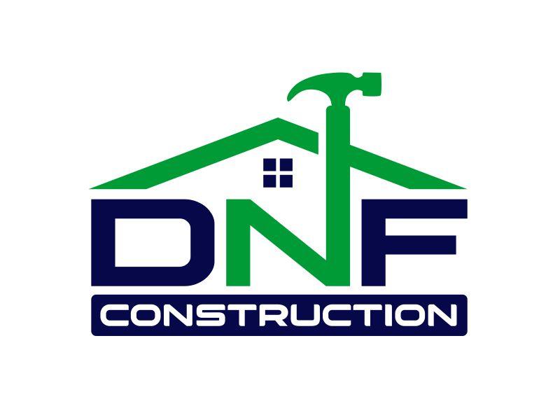 DNF CONSTRUCTION logo design by serprimero