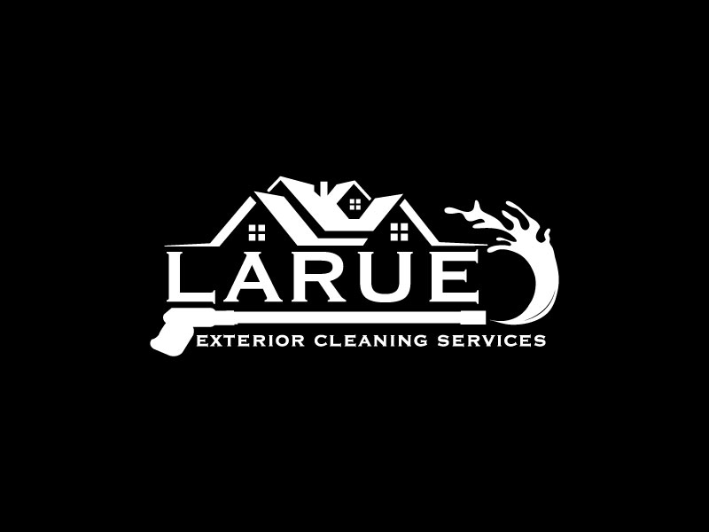 Larue exterior cleaning services logo design by Iqra Aesh