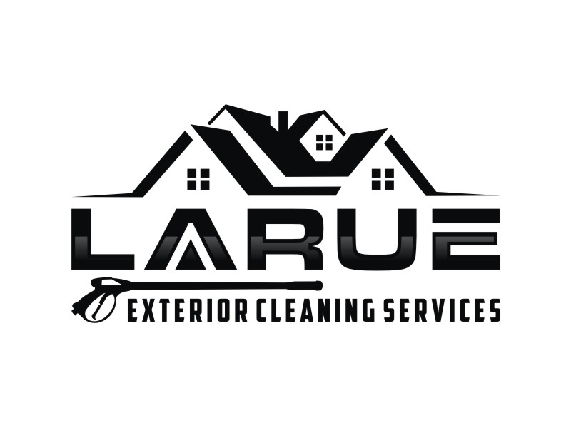 Larue exterior cleaning services logo design by Arto moro