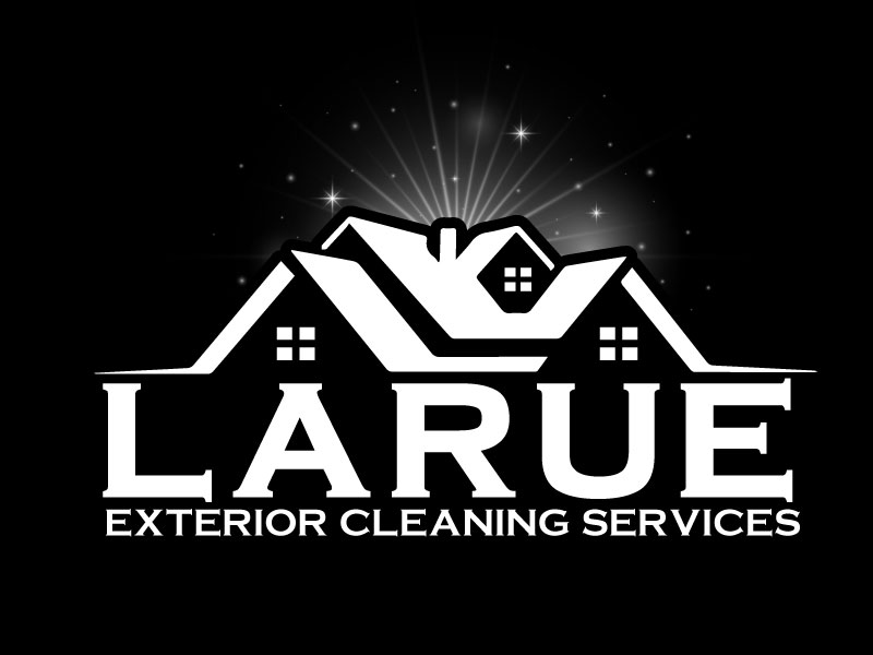 Larue exterior cleaning services logo design by aryamaity