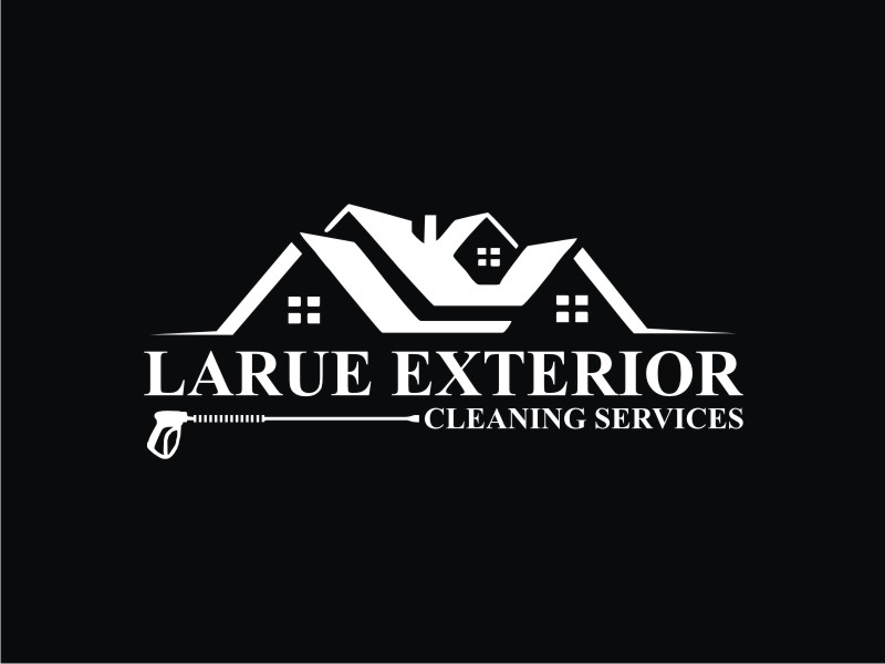 Larue exterior cleaning services logo design by Dian..cox