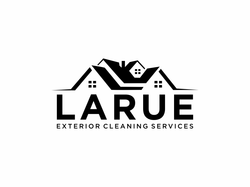 Larue exterior cleaning services logo design by ora_creative