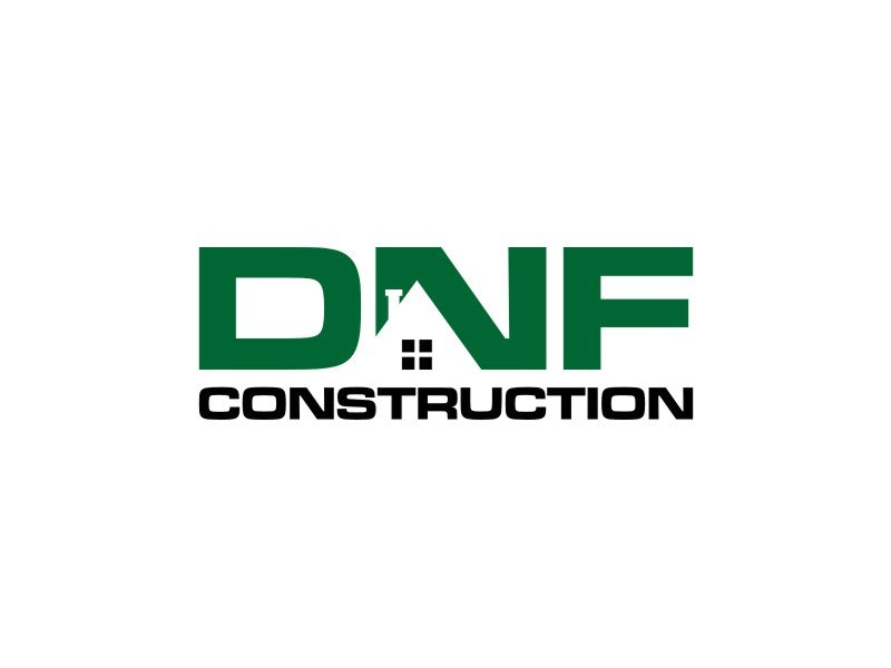 DNF CONSTRUCTION logo design by Nenen