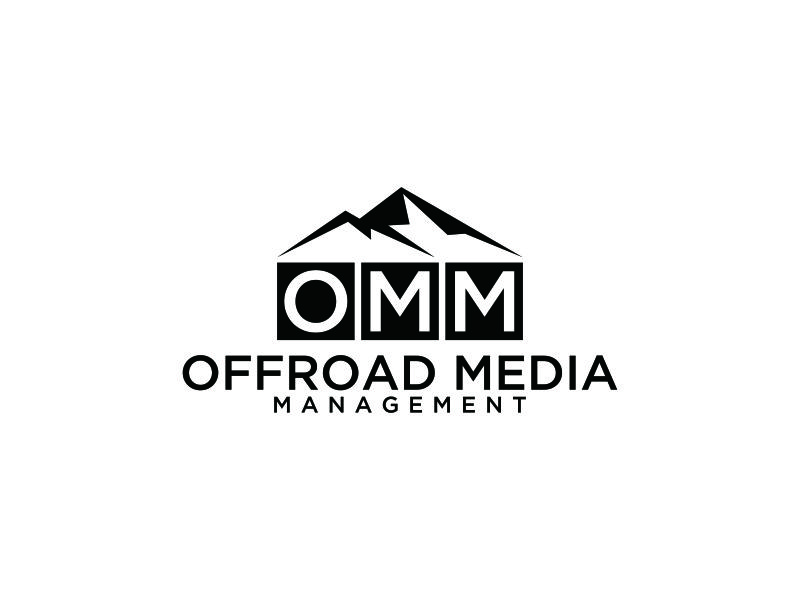 Offroad Media Management logo design by blessings