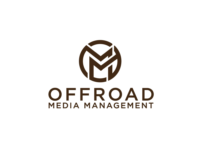 Offroad Media Management logo design by Foxcody