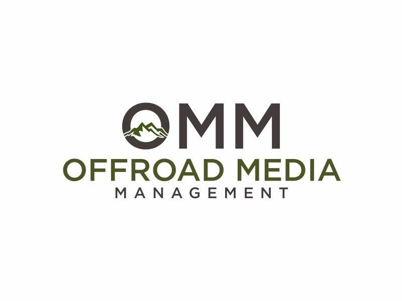 Offroad Media Management logo design by GassPoll