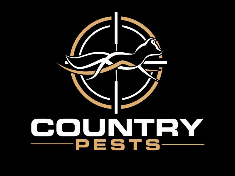 Country Pests logo design by ElonStark