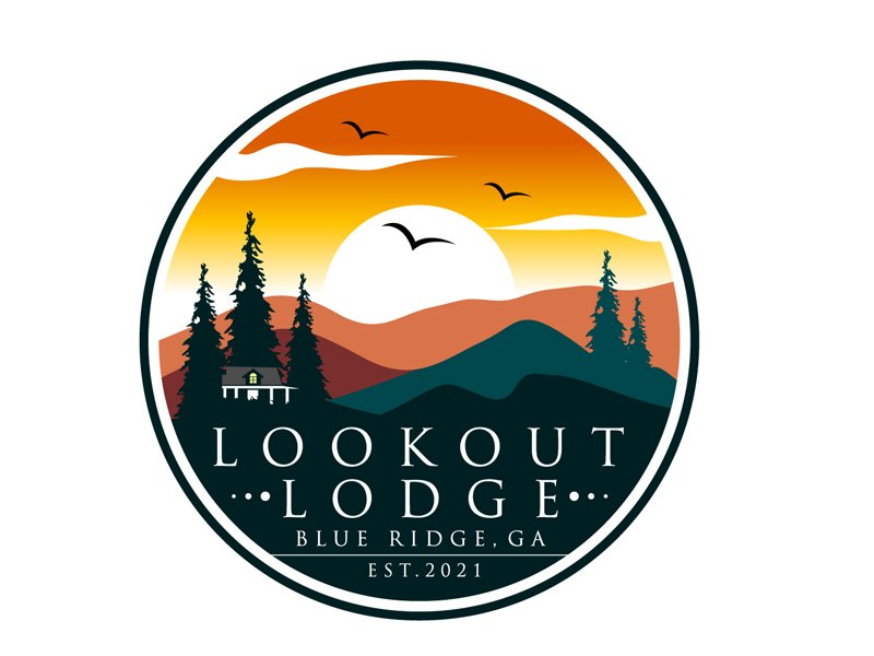 Lookout Lodge Logo Design